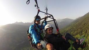 Paragliding-La Plagne, Paradiski-Tandem paragliding in La Plagne, Alps-1