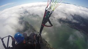 Paragliding-Villach-Tandem paragliding flight in Gerlitzen, at Lake Ossiach-6