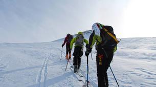 Ski touring-Lake Garda-Guided Ski Touring on Mount Baldo near Lake Garda-1