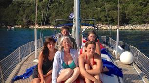 Sailing-Lefkada-Sailing and snorkeling tour in Lefkada-2