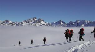 Raquette à Neige-Saint-Lary-Soulan-Randonnée Raquettes dans les Pyrénées près de Saint-Lary-1