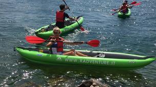 Kayaking-Lake Garda-Beginner Canoeing Trip to Punta San Vigilio in Lake Garda-3