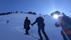 Raquette à Neige-Saint-Lary-Soulan-Randonnée Raquettes dans les Pyrénées près de Saint-Lary-6