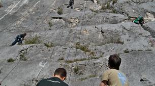 Escalade-Lac de Garde-Private Group Rock Climbing Excursion near Lake Garda-6
