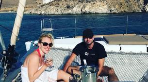 Sailing-Mykonos-Catamaran Sailing Cruise in Mykonos-4