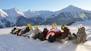 Snow Experiences-La Plagne, Paradiski-Snake Sledding in La Plagne, Alps-2