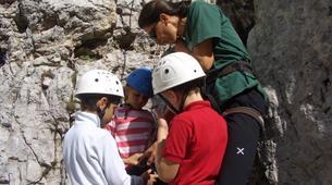 Rock climbing-Cortina d'Ampezzo-Climbing Course in Cinque Torri Mountains near Cortina d' Ampezzo-5