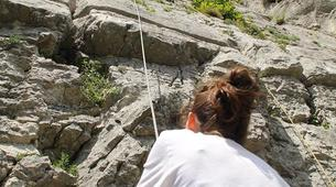 Rock climbing-Lake Garda-Extreme Multi-pitch Rock Climbing Course in near Lake Garda-6