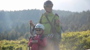 Paragliding-La Plagne, Paradiski-Tandem paragliding in La Plagne, Alps-19