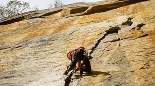 Rock climbing-Cortina d'Ampezzo-Climbing Course in Cinque Torri Mountains near Cortina d' Ampezzo-1