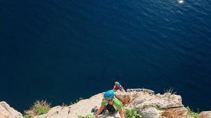 Via Ferrata-Fluminimaggiore-Via Ferrata on the Pan di Zucchero off the coast of Sardinia-3