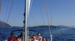 Sailing-Lefkada-Sailing and snorkeling tour in Lefkada-1