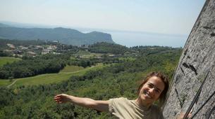 "Via Ferrata-Lake Garda-Extreme Via Ferrata ""The Smugglers Path"" in Lake Garda-4"