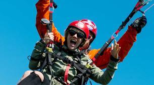 Parapente-Sala-Tandem paragliding flight in Sala, close to Västerås-4
