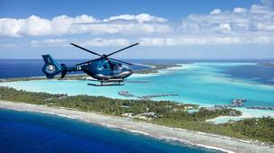 Helicoptère-Bora Bora-Vol panoramique de Bora Bora en hélicoptère-1