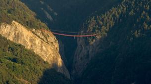 Saut à l'élastique-Niouc-Saut Pendulaire du Plus Haut Pont Suspendu d'Europe, Niouc-2