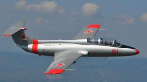 Air Experiences-Banská Bystrica-Jet fighter flight (L-29) in Slovakia-2
