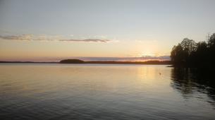 Kajak-Rovaniemi-Kanufahren in Lappland, Finnland-8