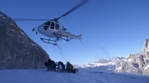 Heliskiing-Cortina d'Ampezzo-Heli-Skiing in the Dolomites near Cortina d'Ampezzo-2