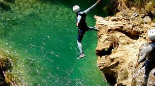 Canyoning-Granada-Canyoning at Rio Verde Gorge in Sierra Nevada-1