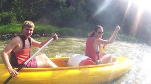 Kayaking-Prague-Canoeing on the river Sázava near Prague-6