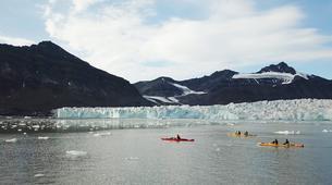 Kayaking-Svalbard-Kayaking along Glacier Fronts on Svalbard, Norway-2