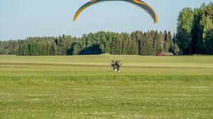 Parapente-Sala-Tandem paragliding flight in Sala, close to Västerås-6