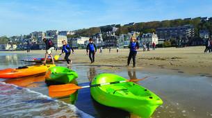 Kayak de mer-Normandie-Randonnée Kayak de mer le long des Falaises de Normandie-6