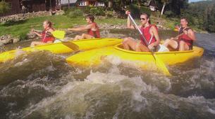 Kayaking-Prague-Canoeing on the river Sázava near Prague-1