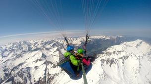 Paragliding-Oberstdorf-Winter tandem paragliding from the Nebelhorn, Oberstdorf-6