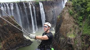 Descente en Rappel-Victoria Falls-Abseiling Victoria Falls-5
