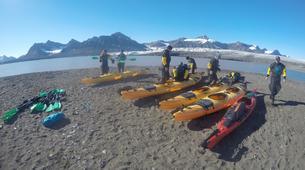 Kayaking-Svalbard-Kayaking along Glacier Fronts on Svalbard, Norway-6
