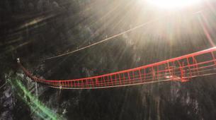 Bungee Jumping-Niouc-Bungee Jump From Europe's Highest Suspension Bridge, in Niouc-2
