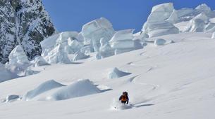 Heliski-Queenstown-Snow Plane & 2 run Ski Excursion of Tasman Glacier, from Queenstown-6