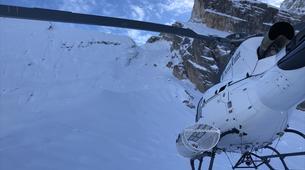 Heliskiing-Cortina d'Ampezzo-Heli-Skiing in the Dolomites near Cortina d'Ampezzo-5