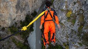 Bungee Jumping-Niouc-Bungee Jump From Europe's Highest Suspension Bridge, in Niouc-3