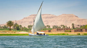 Sailing-Luxor-Felucca Ride on the Nile in Luxor-1