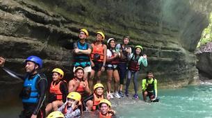 Canyoning-Cebu-Kawasan Falls & Moalboal Island Private Tour Package-4