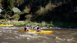 Kayaking-Prague-Canoeing on the river Sázava near Prague-2
