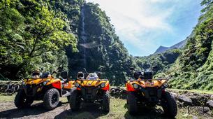 Quad-Tahiti-Randonnée en quad au Lac Vaihiria à Tahiti-5
