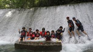Canyoning-Cebu-Kawasan Falls & Moalboal Island Private Tour Package-8