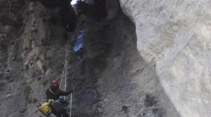Canyoning-Font Romeu-Dry Canyon of Fontanelles in the Spanish Pyrenees-5