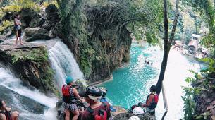 Canyoning-Cebu-Kawasan Falls & Whale Watching Private Tour Package-4