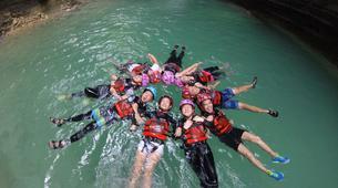 Canyoning-Cebu-Private Canyoning Excursion at Kawasan Falls-1