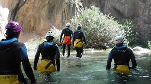 Canyoning-Granada-Canyoning at Rio Verde Gorge in Sierra Nevada-2
