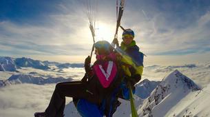 Paragliding-Oberstdorf-Winter tandem paragliding from the Nebelhorn, Oberstdorf-2