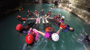Canyoning-Cebu-Private Canyoning Excursion at Kawasan Falls-13