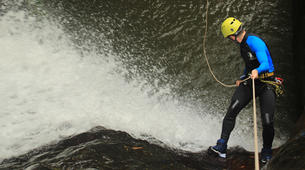 Canyoning-Gitgit-Canyoning Excursion at Tukad Campuhan Gorge in Bali-3