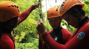 Canyoning-Gitgit-Canyoning Excursion at Tukad Sudamala Gorge in Bali-4