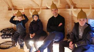 Raquette à Neige-Tromsø-Snowshoeing trip in Tromsø, Norway-4